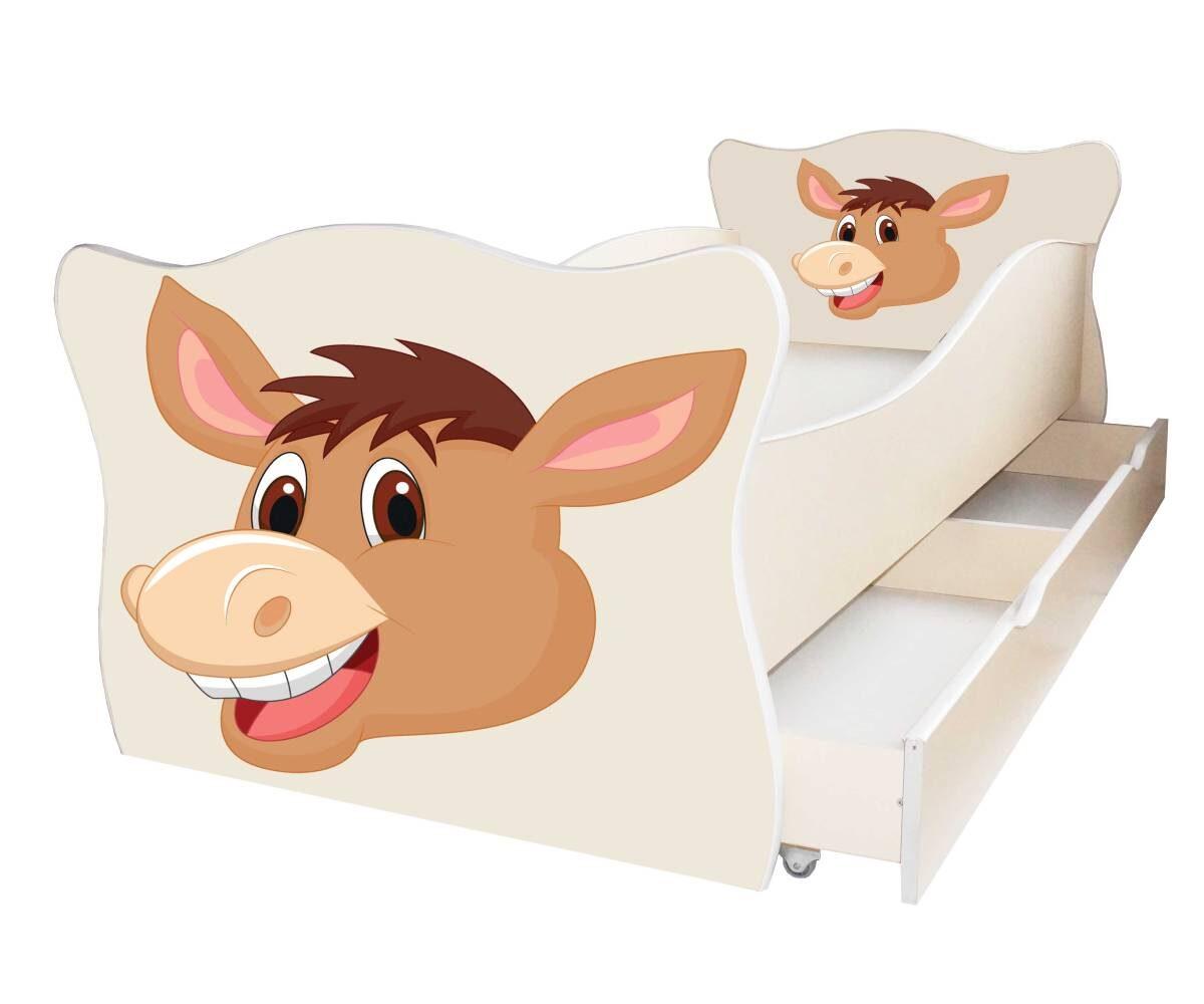 детская кровать с лошадкой