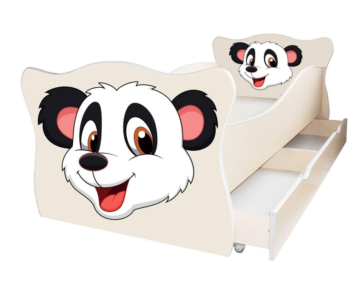детская кровать с пандой