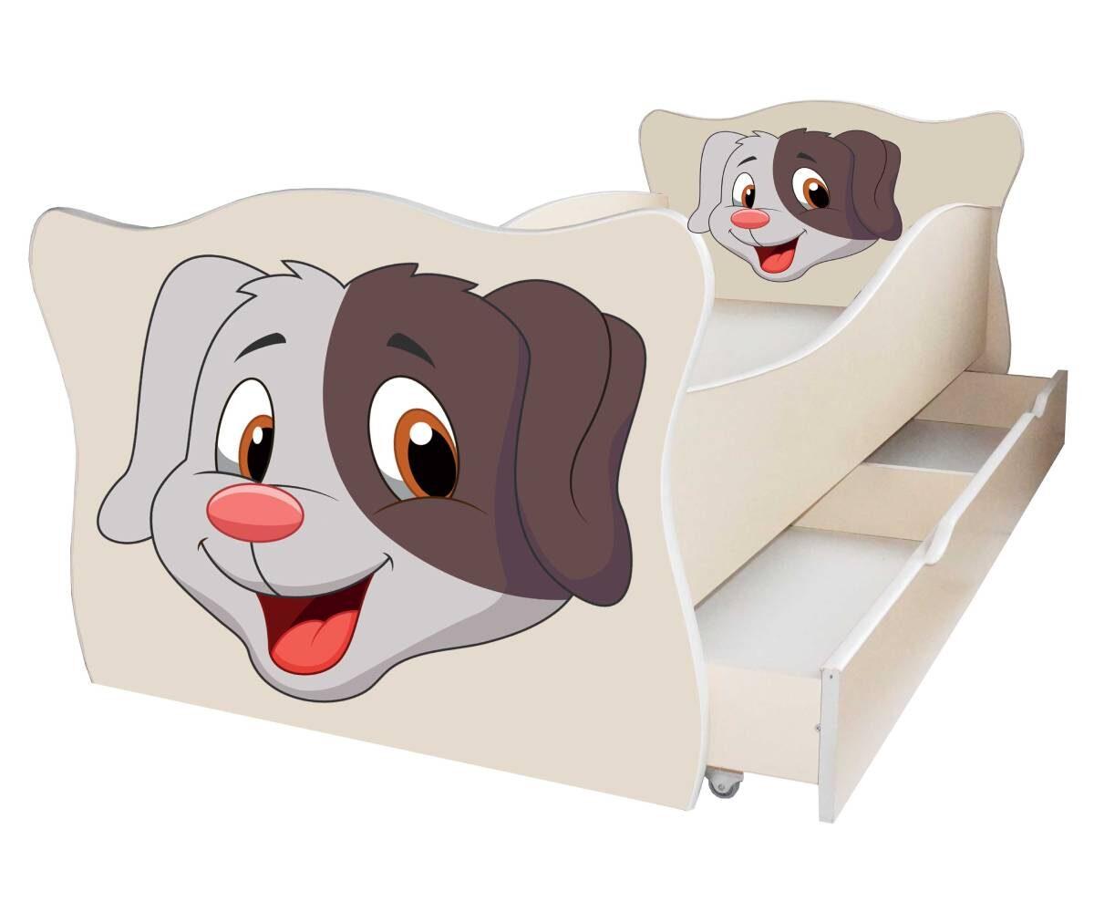 детская кровать с собачкой