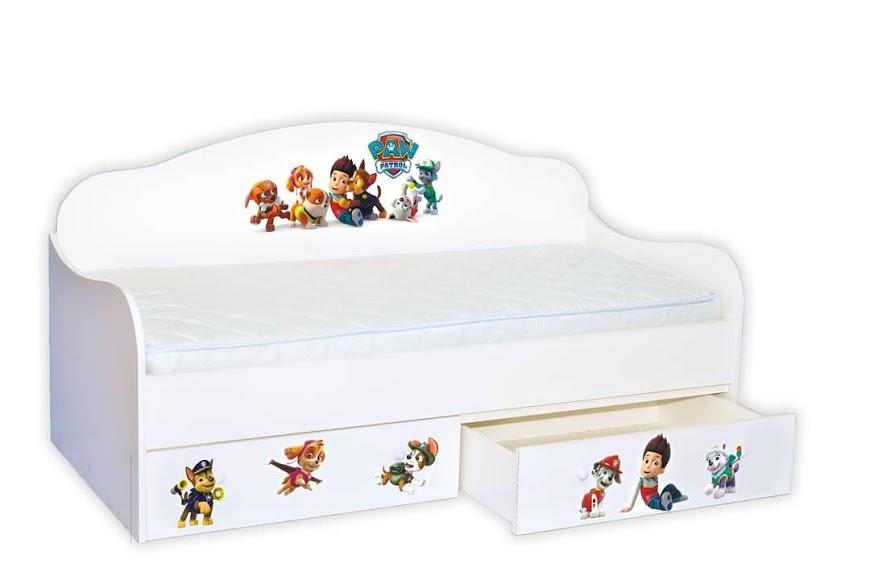 Кровать диванчик Щенячий патруль