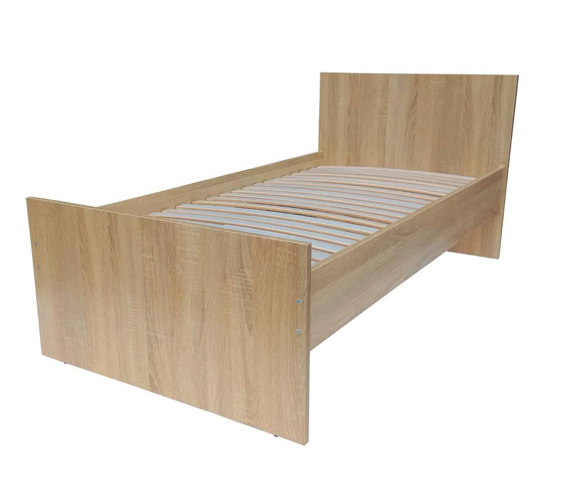 кровать эко дуб сонома