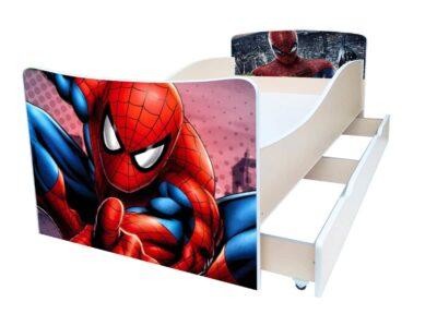 кровать киндер спайдермен