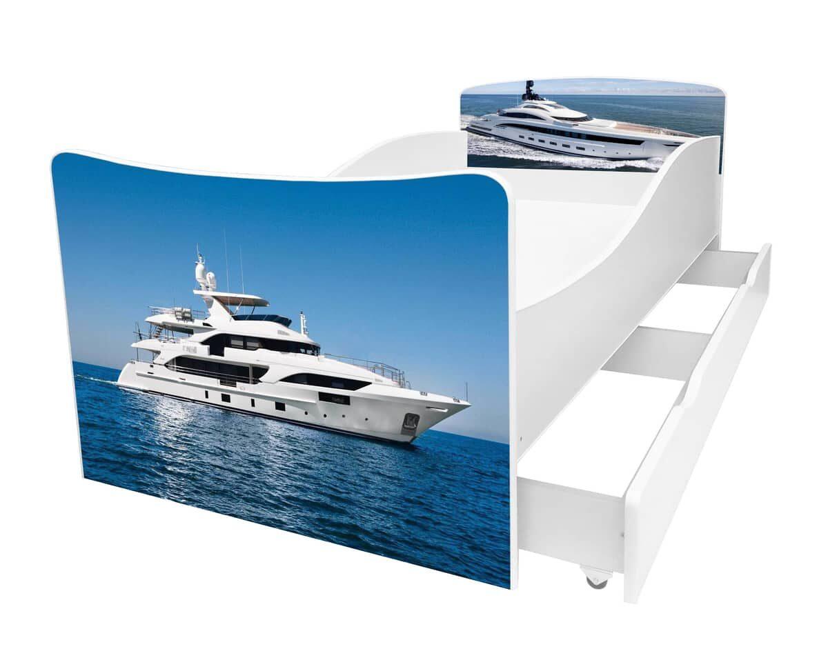 кровать с корабликом серии киндер