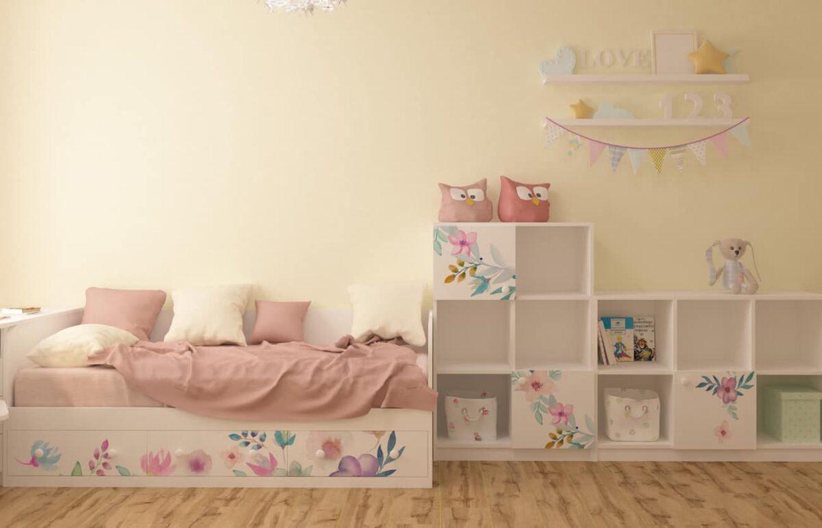 кровать в детскую комнату для девочки