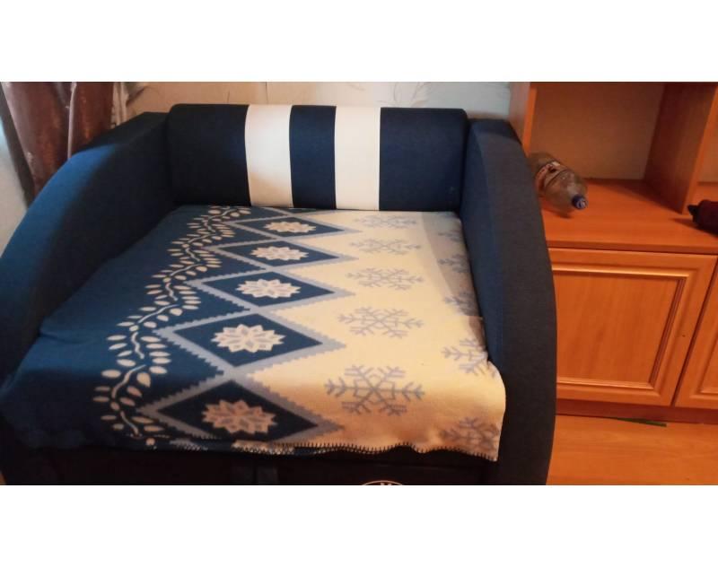 отзыв на кресло смарт синее