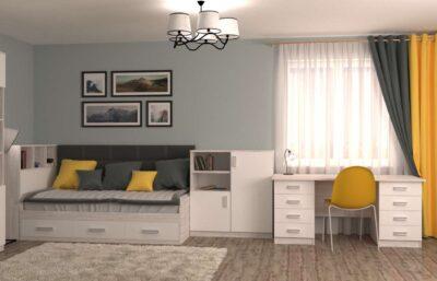 підліткова біла кімната аляска
