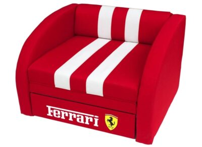 крісло ліжко червоне феррарі