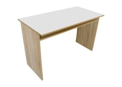 письменный стол эко белый