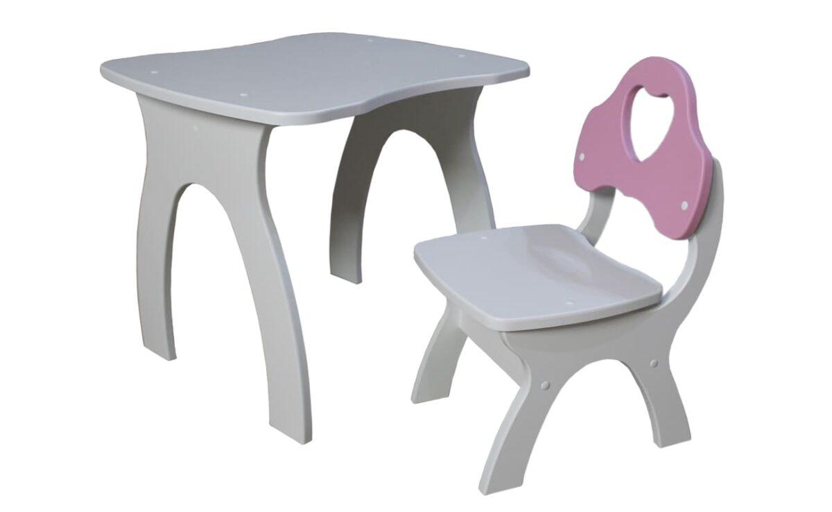 столик и стульчик сердечко