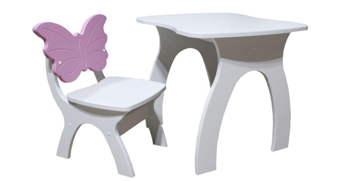 столик и стульчик бабочка