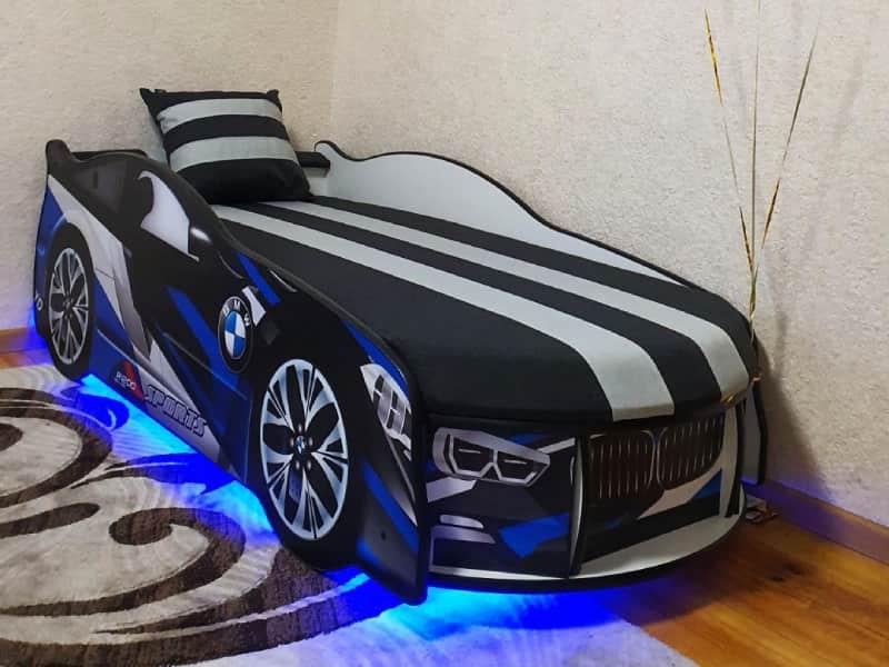 кровать машинка бмв космос