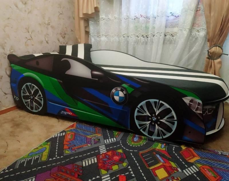 отзыв на кровать машину космос зеленый