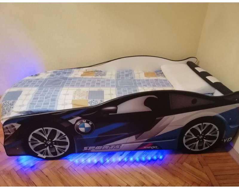отзыв на кровать машину космос с подсветкой