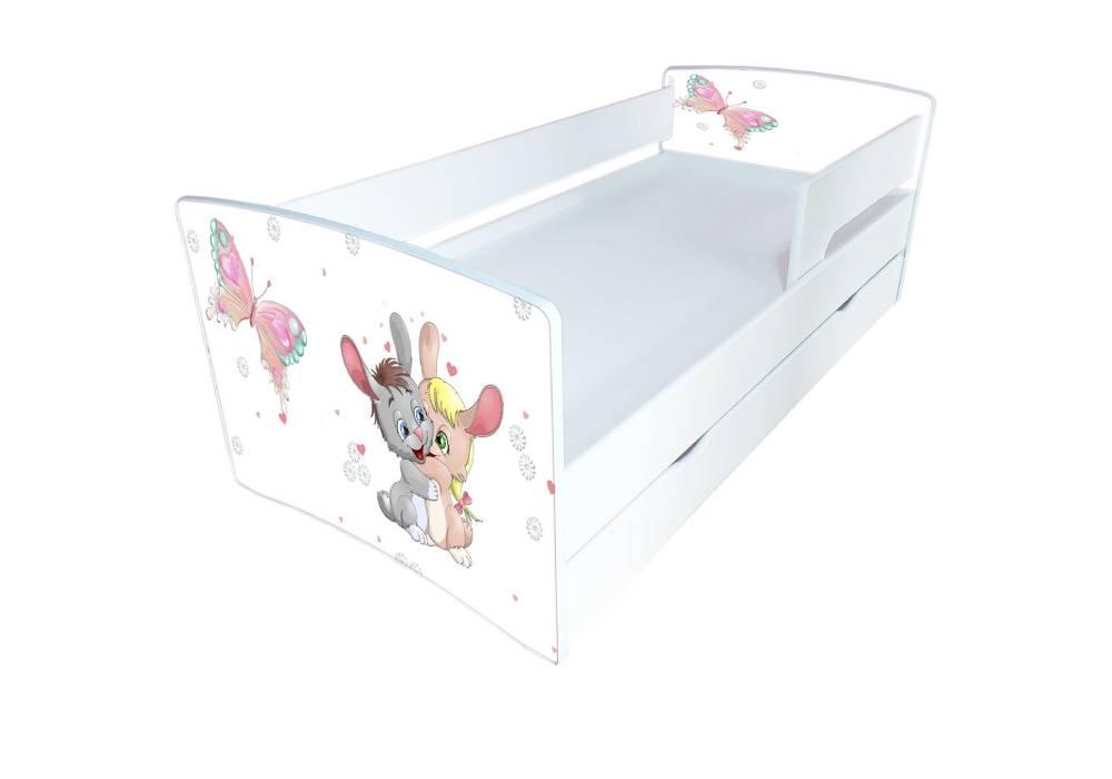 кровать киндер кул зайчики