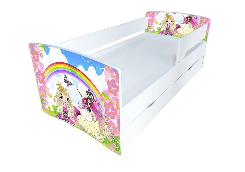 кровать киндер кул радуга