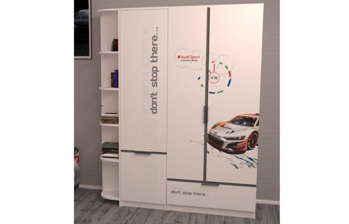 шкаф детский ауди турбо