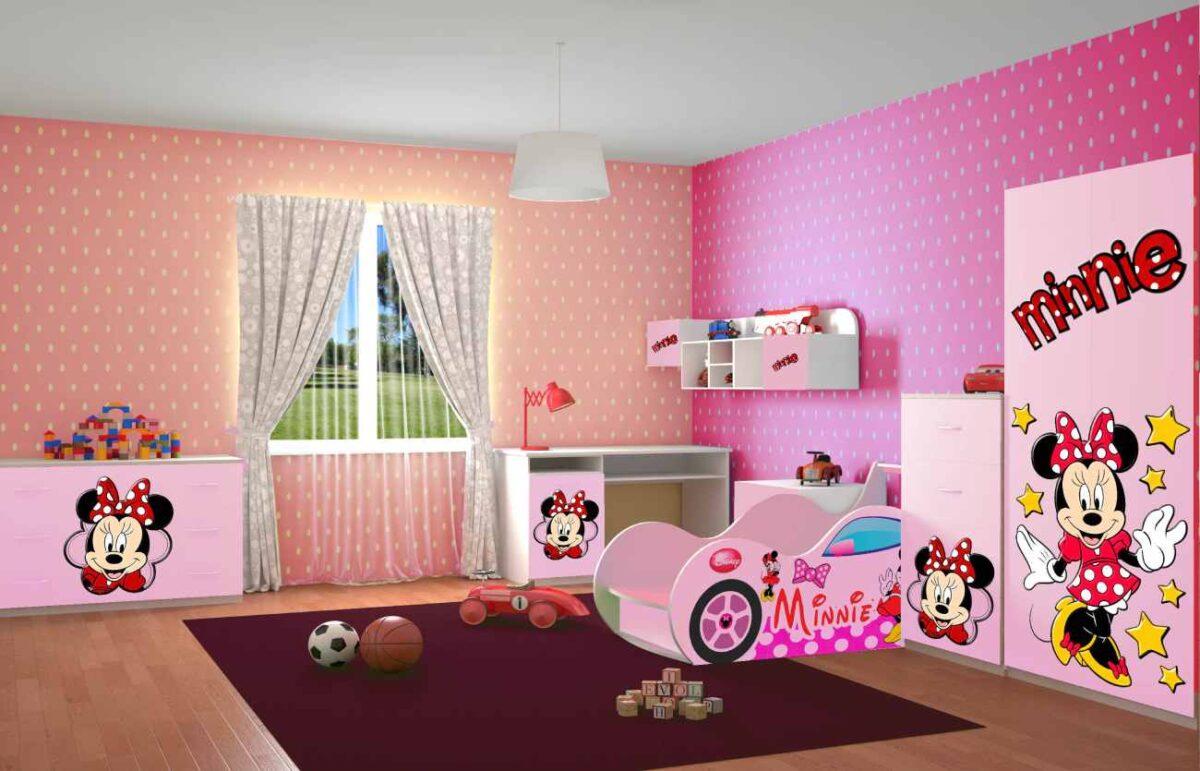 детская комната минни маус