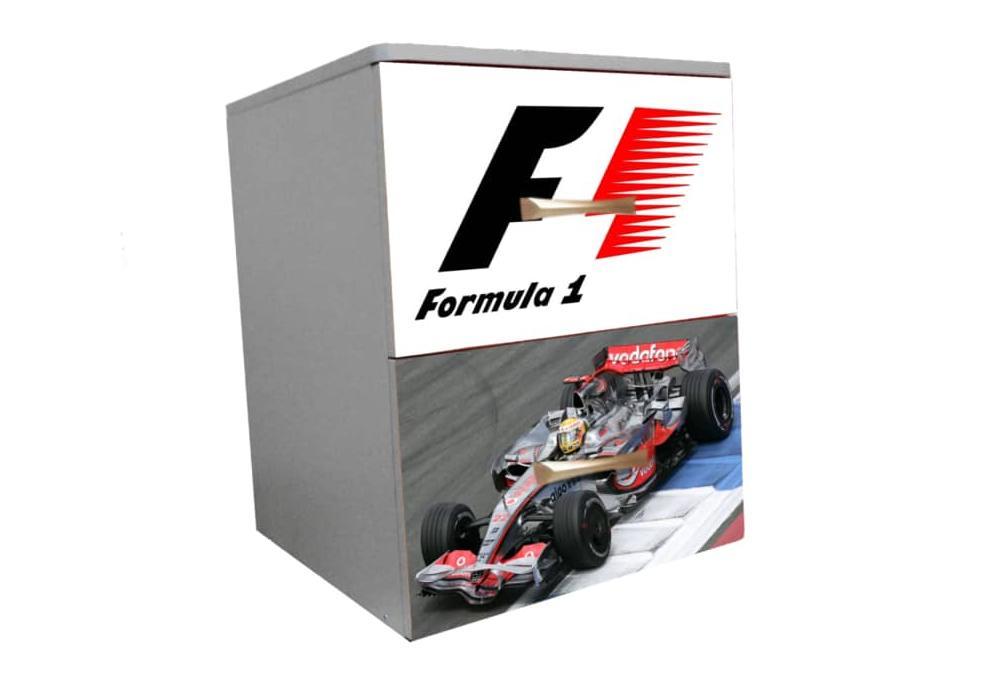 Формула 1 тумба