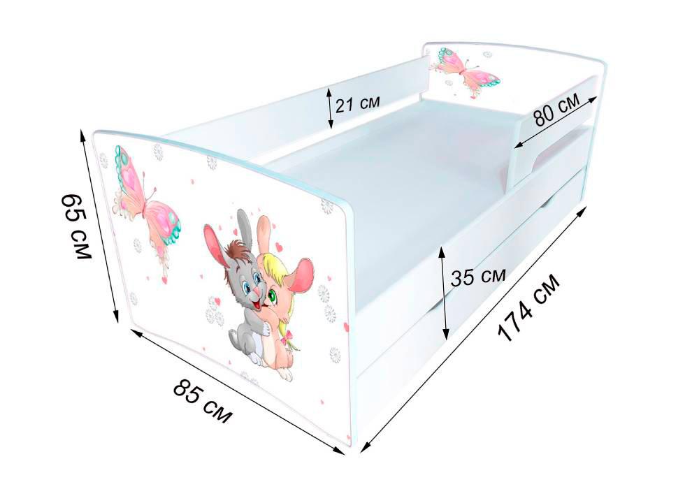 схема кровати киндер кул