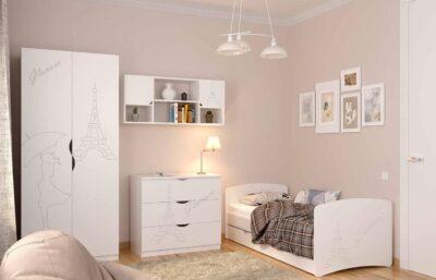 Дитяча кімната Гламур для дівчинки