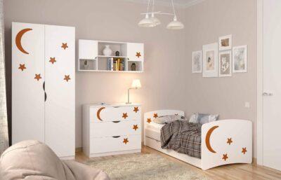 Дитяча кімната квіточки для дівчинки