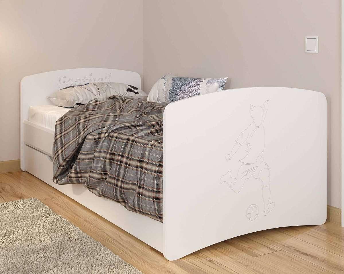 Детская кровать из мдф футбол