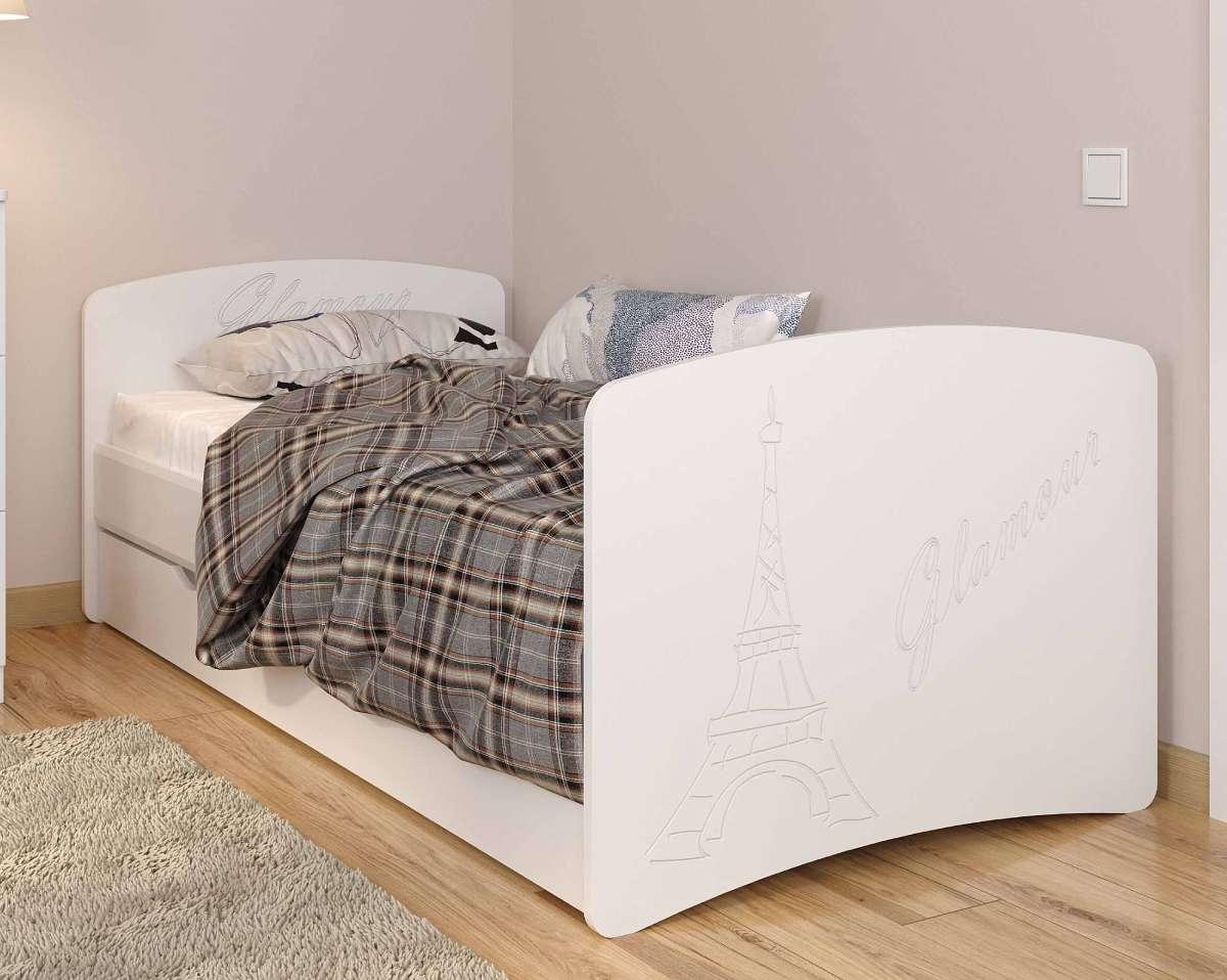 Детская кровать из мдф париж