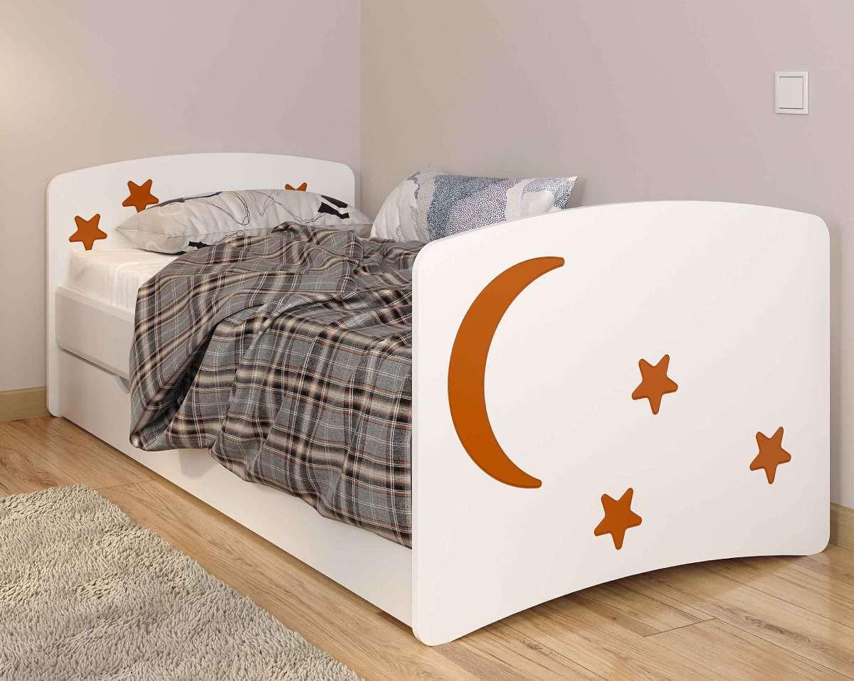 Детская кровать из мдф ночь