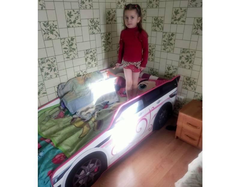 отзыв на кроватку машинку для девочки