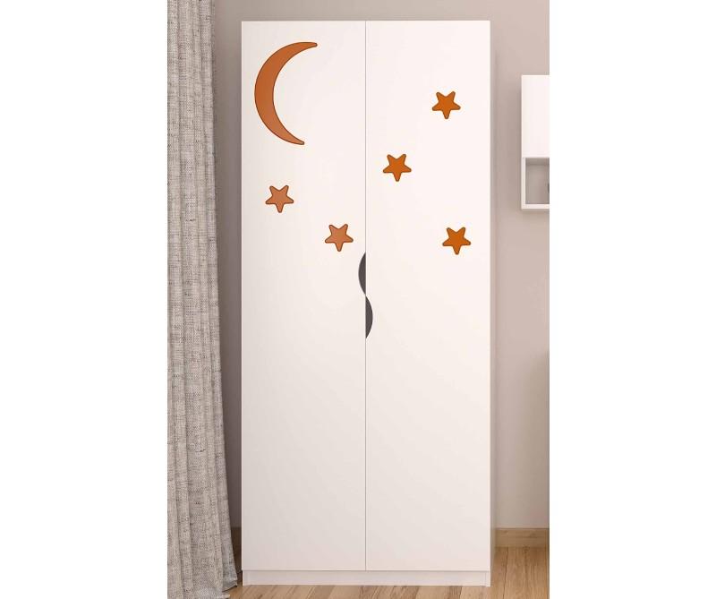 Шкаф детский звездочки для девочки
