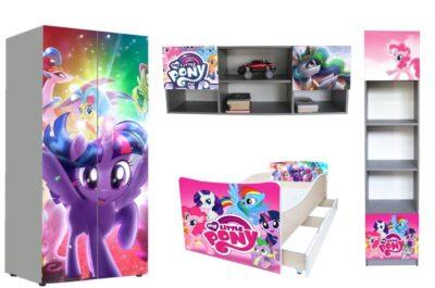 детская мебель в 1 стиле пони