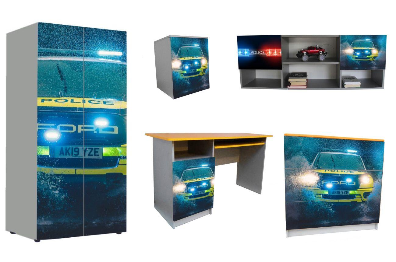 детская мебель в 1 стиле форд полиция