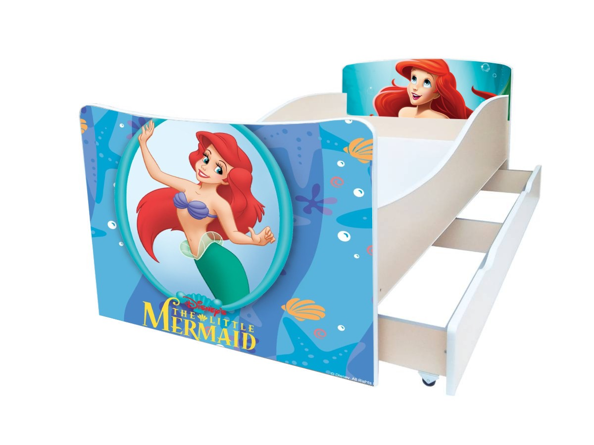 киндер детская кровать ариэль