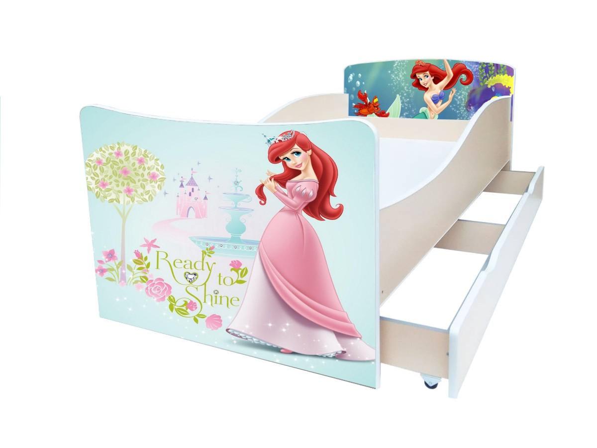 киндер детская кровать русалочка
