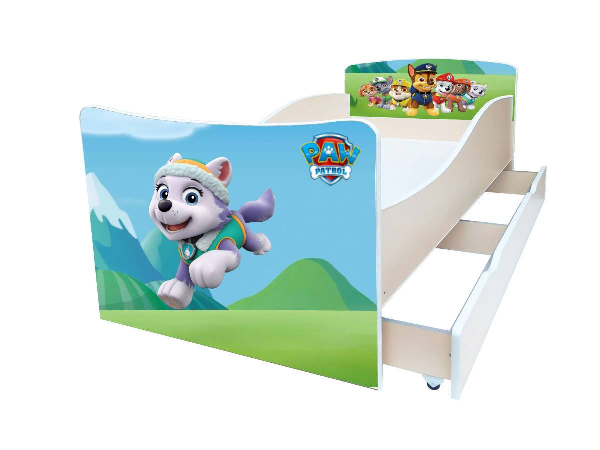 детская кровать киндер патруль эверест