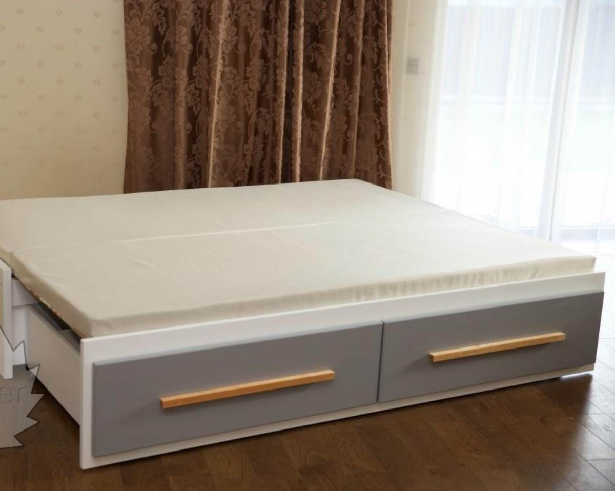 детская кровать трансформер с выдвижным спальным местом 160х200