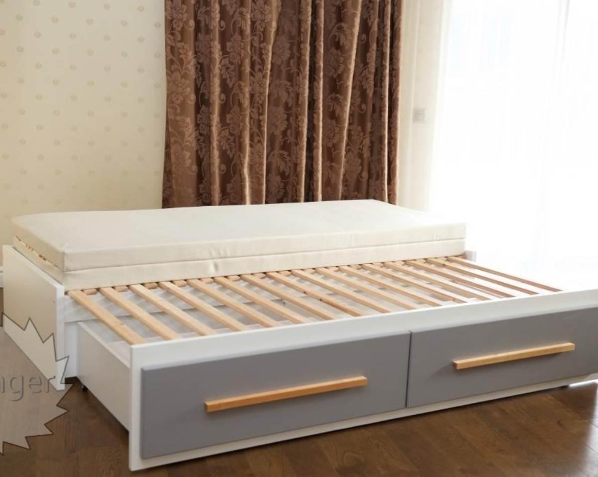 кровать трансформер на 2 спальных места
