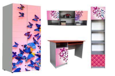 дитячі меблі в 1 стилі метелики