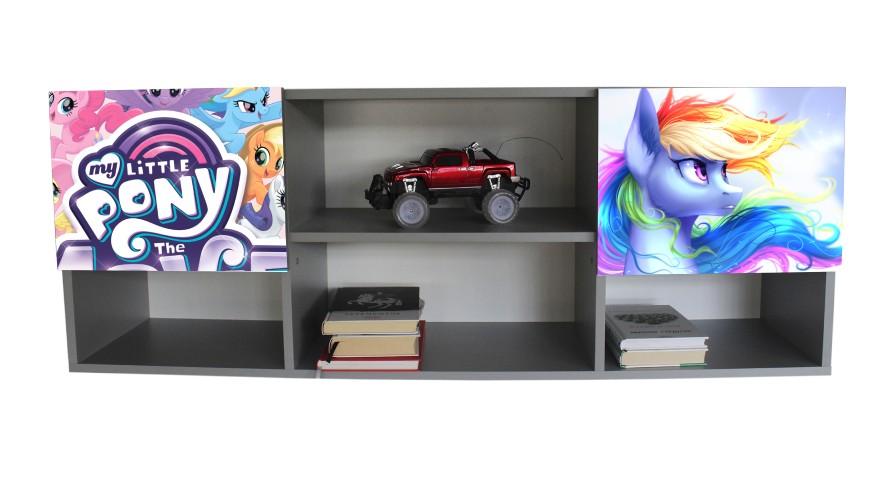 настенная полочка в детскую my little pony