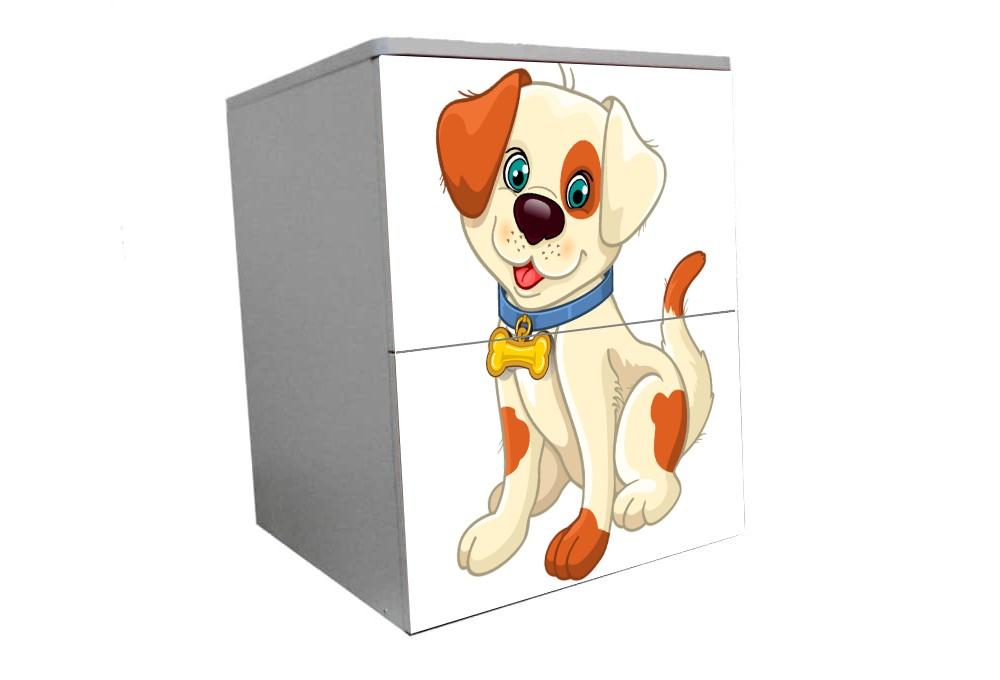 детская тумбочка прикроватная собачка мульт