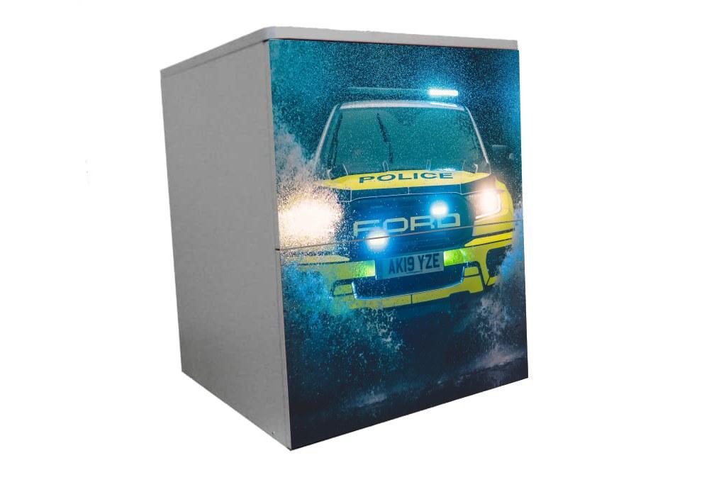 детская прикроватная тумба полиция форд