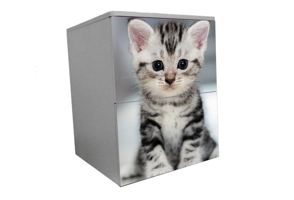 детская тумбочка котик красивый