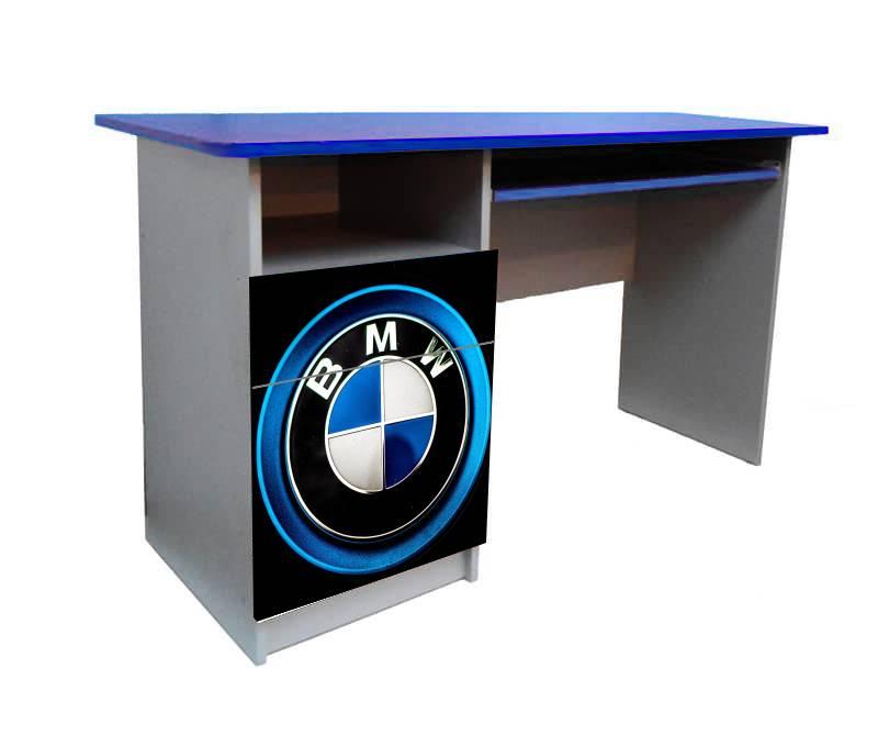 детский письменный стол синий бмв