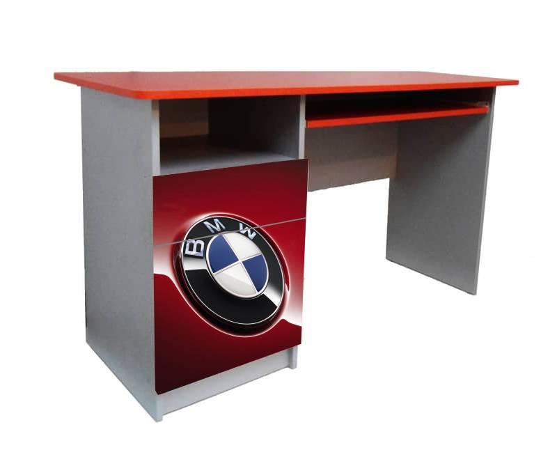 детский письменный стол красный бмв логотип