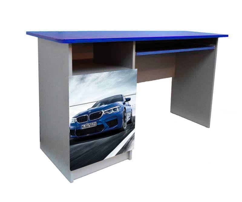 детский письменный стол бмв синий