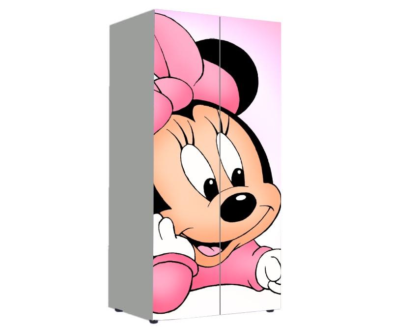 детский шкаф для девочки минни маус