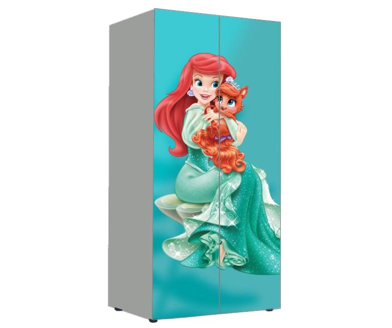 детский шкаф русалочка ариэль