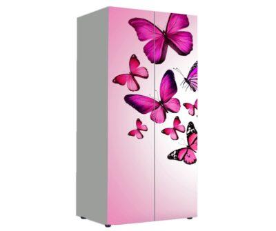 Бабочки. Шкаф вещевой