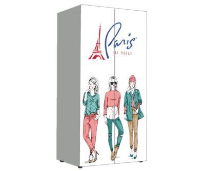 Мода Париж. Шкаф вещевой