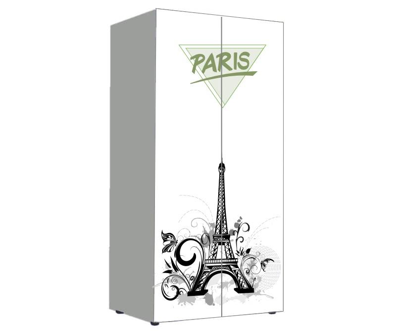 детский шкаф для девочки париж